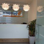 כניסה למשרד בגבעת שמואל ודלפק מעוצב